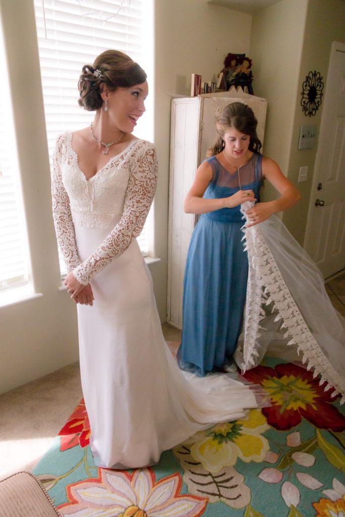Wedding Dress Alterations Modern Cottage Bridal
